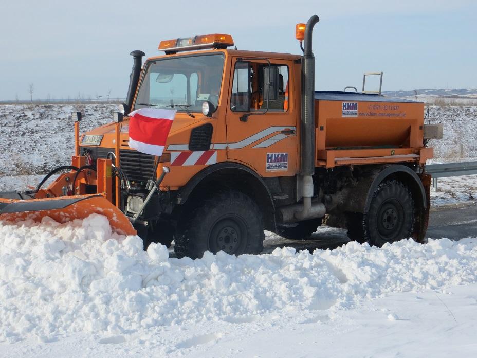 HKM Fahrzeug Winterdienst